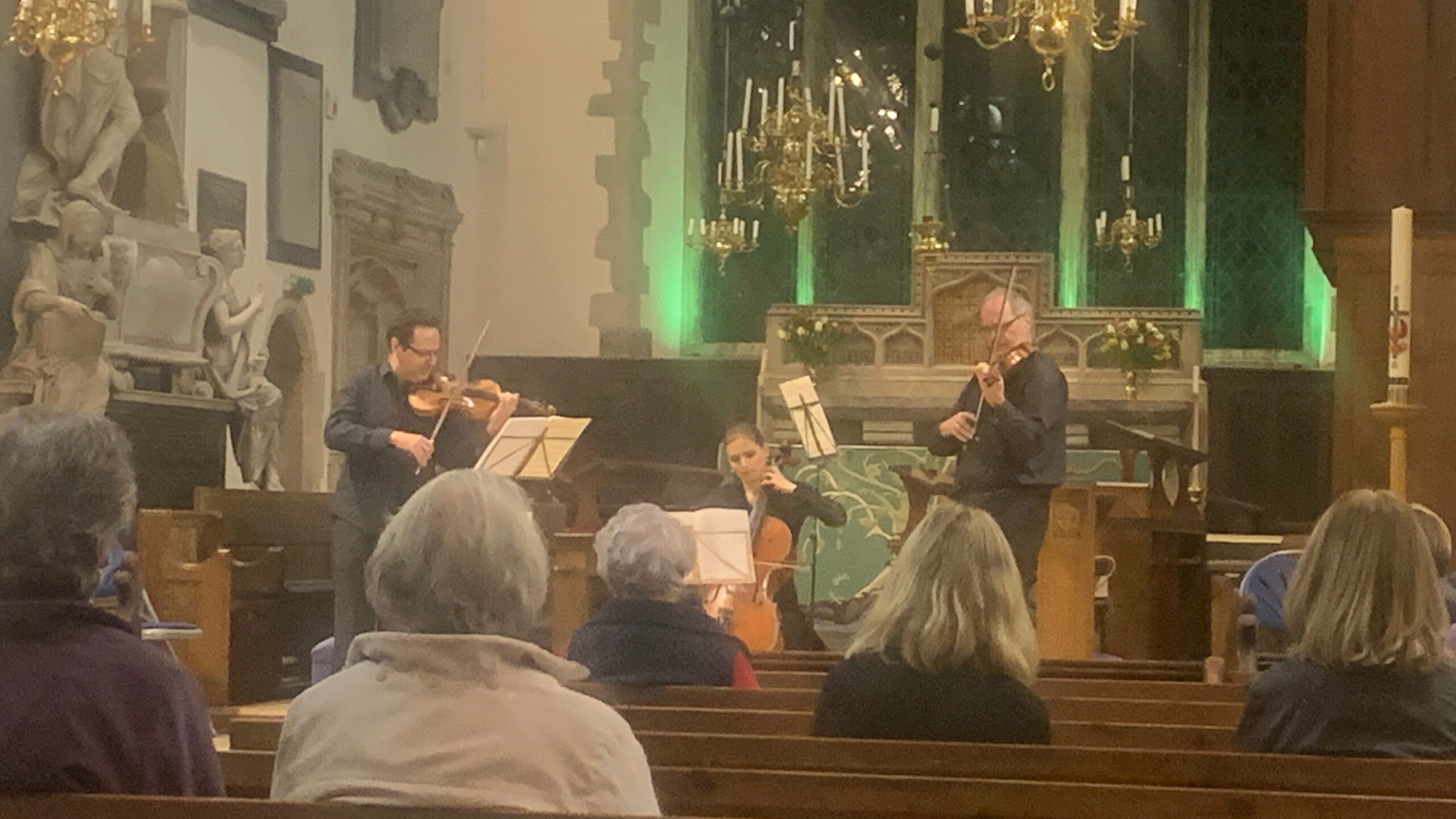 Covid-safe chamber concerts