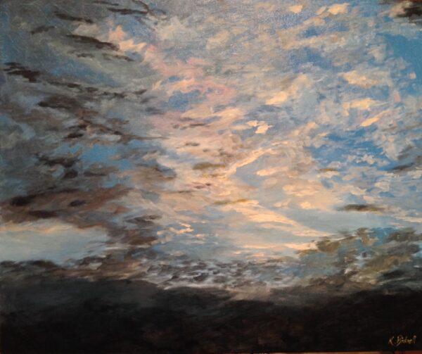 Sunset at Honington