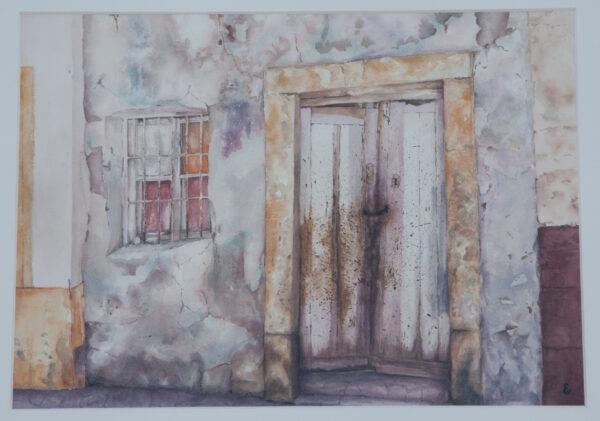 Doorway in Almeria