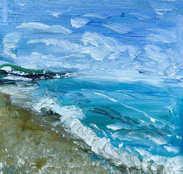 Hythe Beach Waves