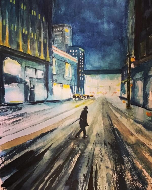 Lone Night Walker