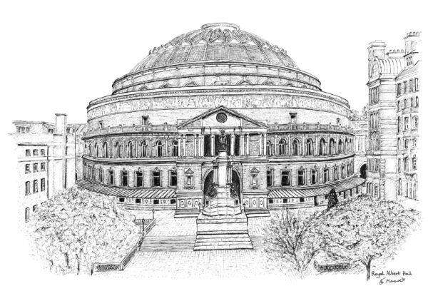 Royal Albert Hall sketch