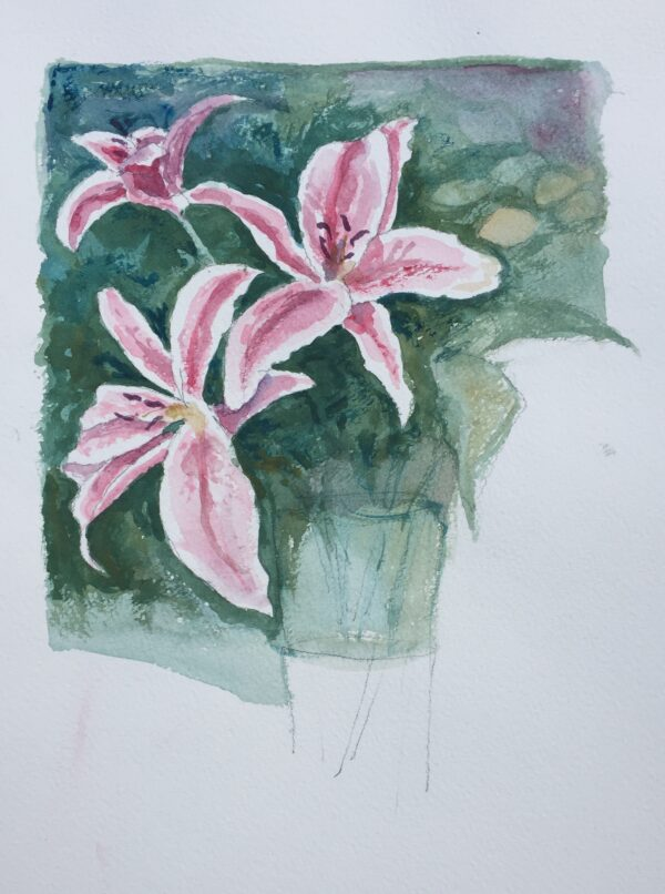Large Lilies